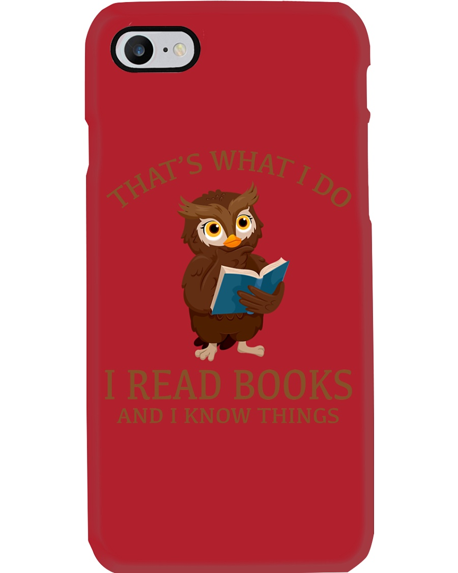 I READ BOOKS 10 Phone Case