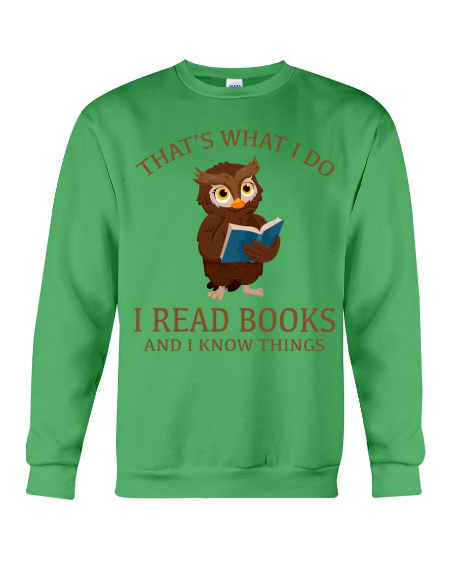 I READ BOOKS 10 Crewneck Sweatshirt