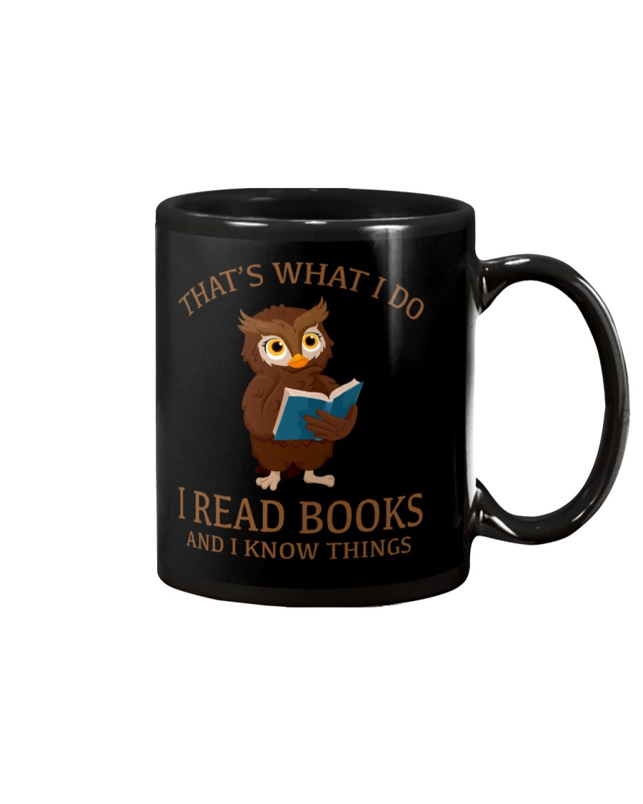 I READ BOOKS 10 Mug
