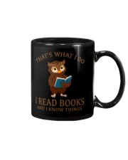 I READ BOOKS 10 Mug front