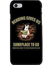 RABBIT - READING GIVES US Phone Case thumbnail