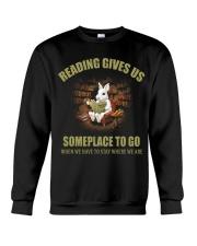 RABBIT - READING GIVES US Crewneck Sweatshirt thumbnail