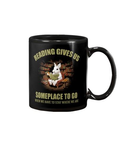 RABBIT - READING GIVES US