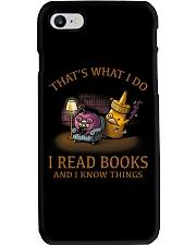 I READ BOOKS 6 Phone Case thumbnail