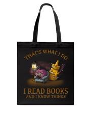 I READ BOOKS 6 Tote Bag thumbnail