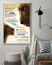 TO MY DAD 24x36 Poster lifestyle-poster-1