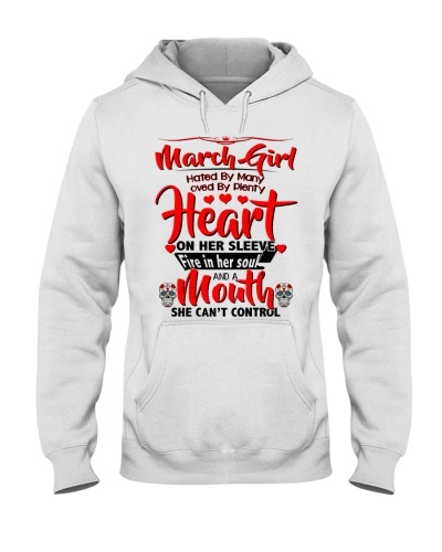 March Girl Heart