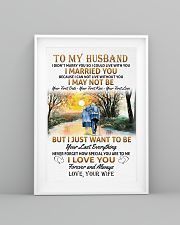 To my husband poster 11x17 Poster lifestyle-poster-5