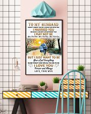 To my husband poster 11x17 Poster lifestyle-poster-6