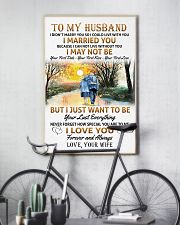 To my husband poster 11x17 Poster lifestyle-poster-7