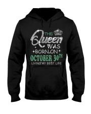 Queen was born on Octocber 30 Hooded Sweatshirt thumbnail