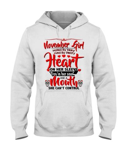 November Girl Heart