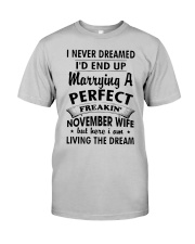 NOVEMBER WIFE Classic T-Shirt front