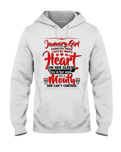 January Girl Heart