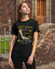 A Queen October 1 Classic T-Shirt apparel-classic-tshirt-lifestyle-06
