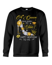 A Queen October 1 Crewneck Sweatshirt thumbnail