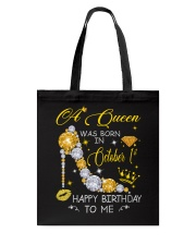 A Queen October 1 Tote Bag thumbnail
