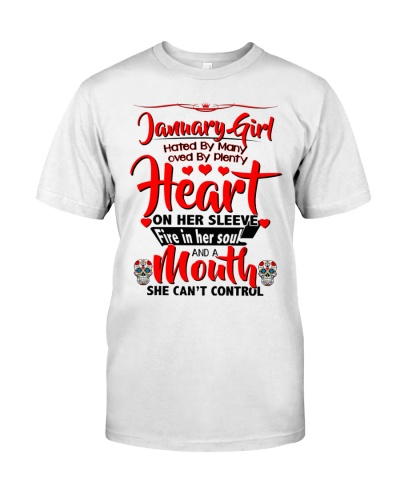 January Girl Heart 2