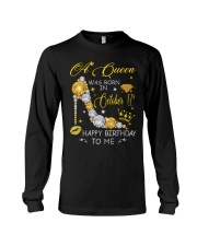 A Queen October 11 Long Sleeve Tee thumbnail