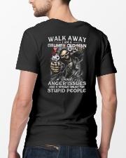 WALK AWAY  Classic T-Shirt lifestyle-mens-crewneck-back-5