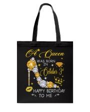 A Queen October 3 Tote Bag thumbnail