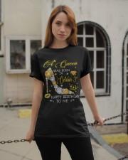 A Queen October 3 Classic T-Shirt apparel-classic-tshirt-lifestyle-19