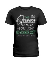 Queen was born on November 24 Ladies T-Shirt thumbnail