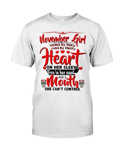 November Girl Heart 2