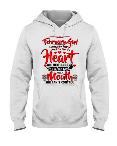 February Girl Heart