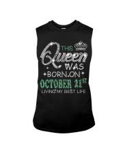 Queen was born on Octocber 21 Sleeveless Tee thumbnail