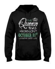 Queen was born on Octocber 21 Hooded Sweatshirt thumbnail