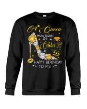 A Queen October 30 Crewneck Sweatshirt thumbnail