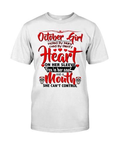 October Girl Heart 2