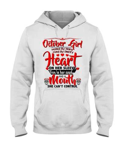 October Girl Heart