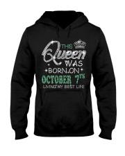 Queen was born on Octocber 7 Hooded Sweatshirt thumbnail