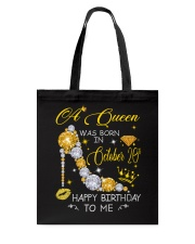 A Queen October 20 Tote Bag thumbnail