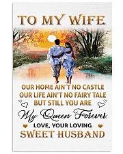 To My Wife Vertical Poster tile