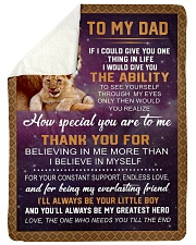 "To my Dad Large Sherpa Fleece Blanket - 60"" x 80"" thumbnail"