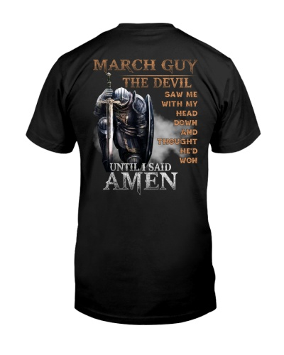 MARCH GUY