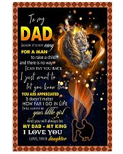 To My Daddy 11x17 Poster thumbnail
