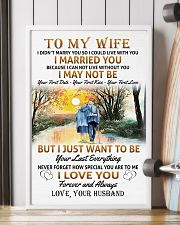 To My Wife poster 11x17 Poster lifestyle-poster-4