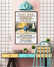 To My Wife poster 11x17 Poster lifestyle-poster-6