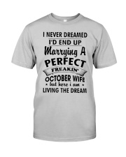OCTOBER WIFE Classic T-Shirt front
