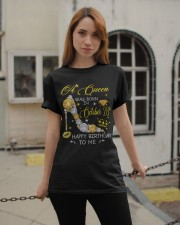A Queen October 28 Classic T-Shirt apparel-classic-tshirt-lifestyle-19