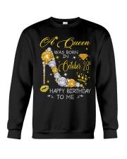 A Queen October 28 Crewneck Sweatshirt thumbnail