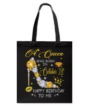 A Queen October 28 Tote Bag thumbnail
