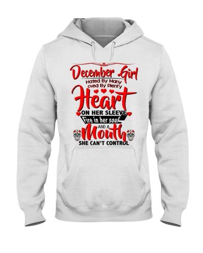 December Girl Heart