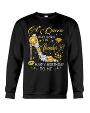 A Queen November 30 Crewneck Sweatshirt thumbnail