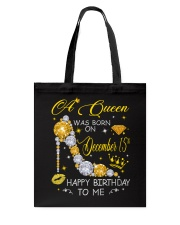 A Queen December 15 Tote Bag thumbnail