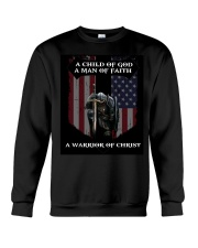 A Warrior of Christ Crewneck Sweatshirt thumbnail